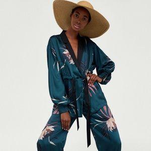 NWT Zara Floral Jacket